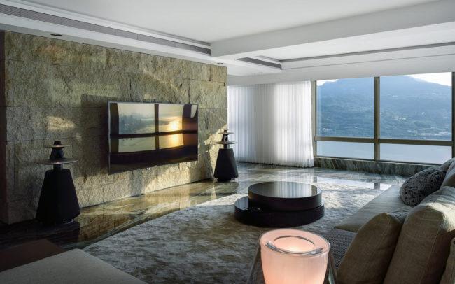 客廳夕陽角度攝影